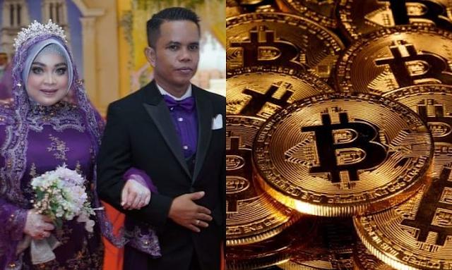 Lamar Isteri Guna 2 Keping Bitcoin Bernilai Lebih RM450 Ribu Sebagai Hantaran