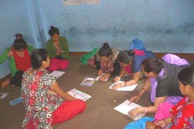 Alphabétisation des femmes au Népal