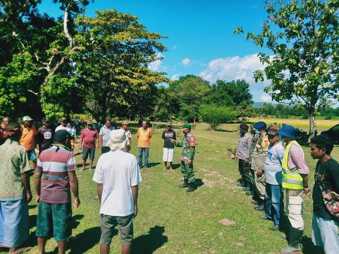 Dansatgas Pamtas RI-RDTL Sektor Timur Imbau Masyarakat Bersinergi Jaga Tapal Batas Kedua Negara
