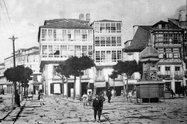 1890. Plaza de Santa Catalina y San Andrés