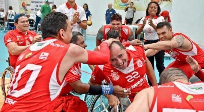 Basquete Paralímpico: América Tigres conquista 3º lugar no Campeonato Brasileiro