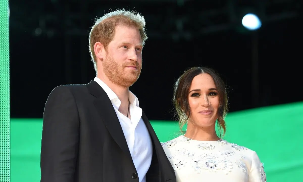 Meghan Markle and Prince Harry deliver impassioned speech at Global Citizen Live