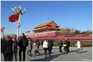 На площади Тяньньмынь