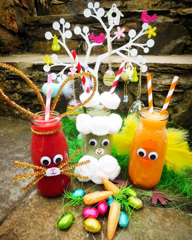 Happy Easter Smoothies