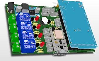MẠCH PHẦN CỨNG IOT ĐƠN GIẢN - ARDUINO MEGA 2560 - Module Node MCU ESP8266