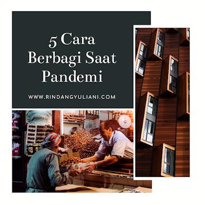 5 Cara Berbagi Saat Pandemi