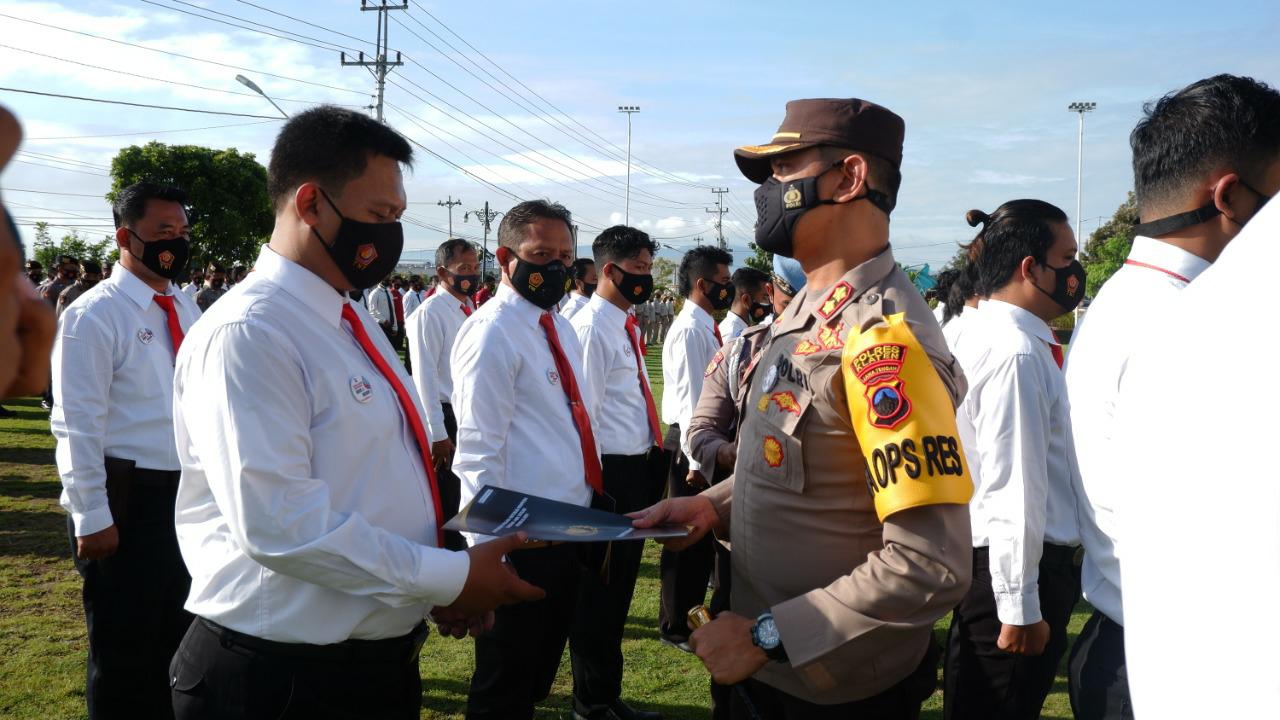 Polres Klaten Kembali Beri Penghargaan Kepada 26 Anggota Berprestasi Ungkap Kasus