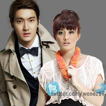 Siwon Choi with Girlfriend