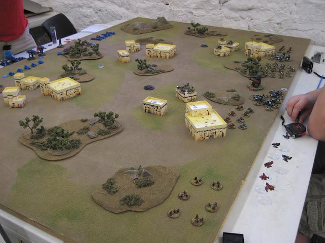 Round 3, Karl's Orks vs Rob's Marines.