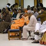 Swami Swahanandaji addresses the assembly