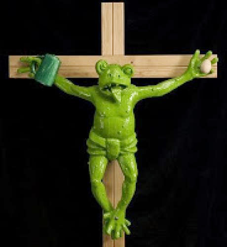 The Strange Case Of The Crucified Frog