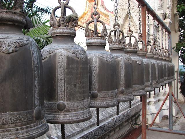 Temple bells, Thailand
