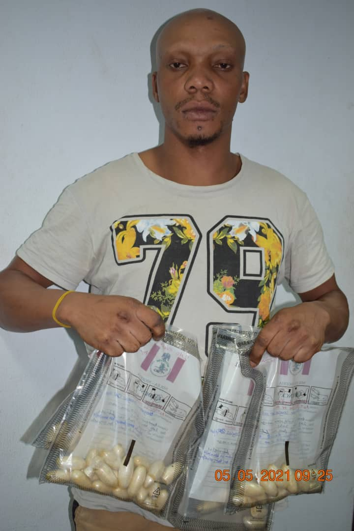 Italy-Bound Heroin Intercepted At Abuja Airport, NDLEA Nabs Trafficker