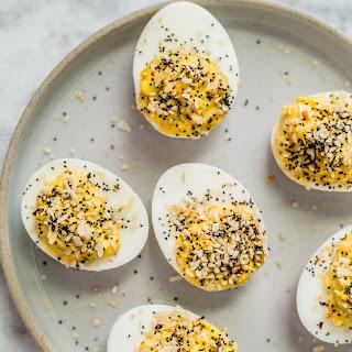 Keto Everything Bagel Deviled Eggs Recipe