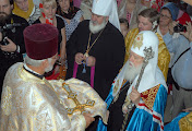 В Южноукраинске Патриарх Филарет освятил храм апостолов Петра и Павла