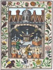 Engraving 5 From Norton Ordinall In Ashmole Theatrum Chemicum Britannicum 1652, Alchemical And Hermetic Emblems 1