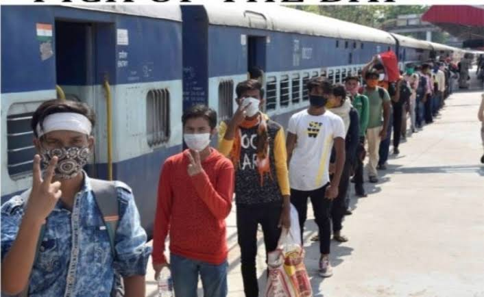 79 ट्रेनों से आज 1 लाख 25 हजार मजदूर पहुंचेंगे बिहार, महाराष्ट्र से सबसे अधिक गाड़ियां