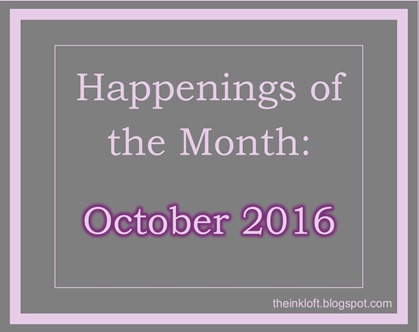 Happenings of the Month Oct 2016
