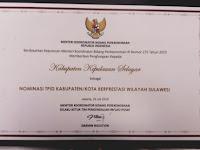 Selayar Masuk Nominasi Kota Berprestasi Wilayah D Sulawesi TPID.