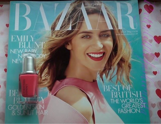 June Harper's Bazaar Magazine 2014