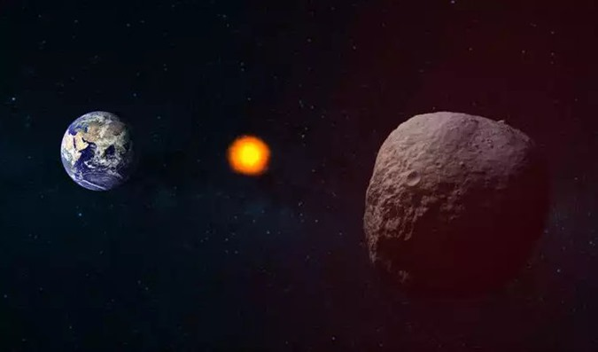Enorme, potencialmente perigoso asteróide está voando em direção à Terra