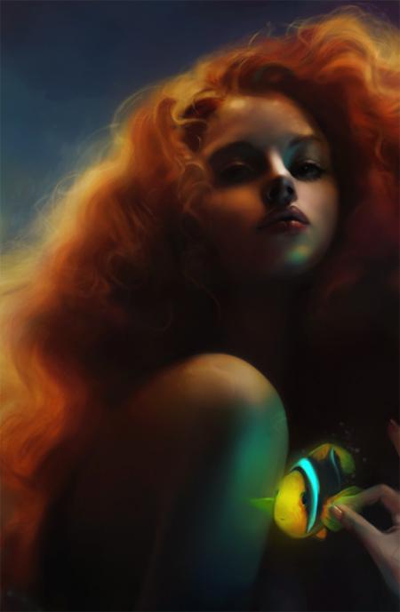 Mermaid Hairs, Mermaids