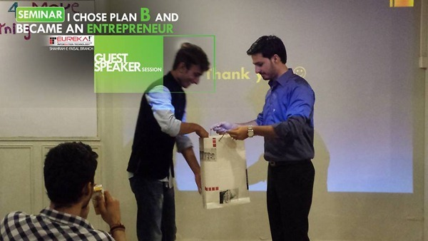 Mohammad Abid at Eureka Pakistan