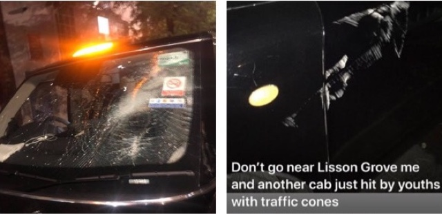 Taxi Leaks: Last Nights Attacks On Taxis In The Lisson Green Area