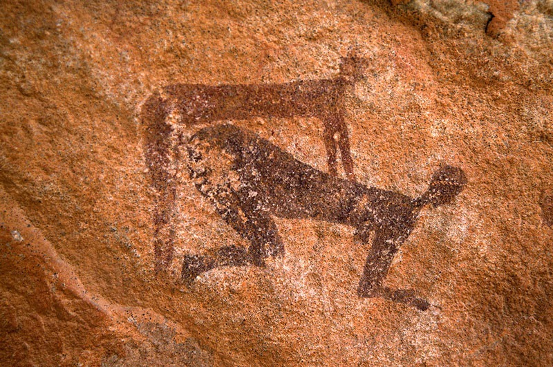 the prehistoric rock art of tassili n 39 ajjer algeria. Black Bedroom Furniture Sets. Home Design Ideas