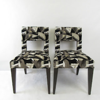 Upholstered  Dining Chair Pair