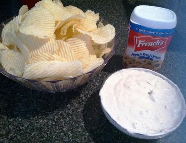 French Onion Sour Cream Dip Recipe
