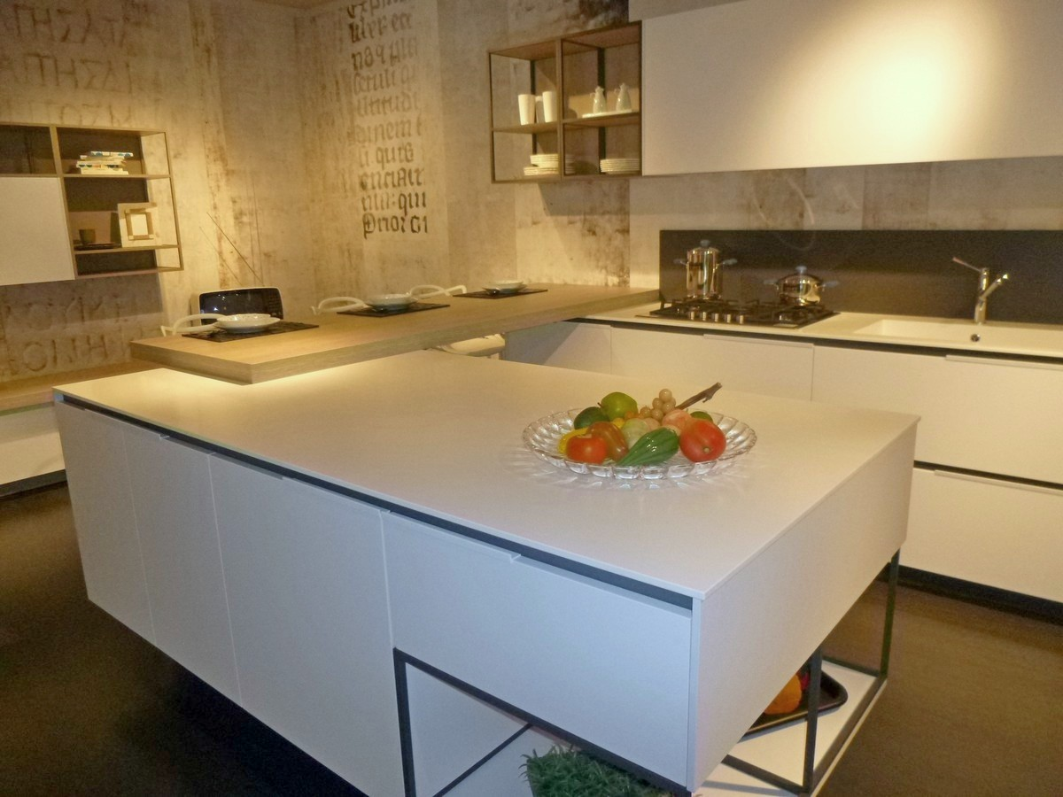 cucina orange snaidero base con cassetti interni. cucine ...