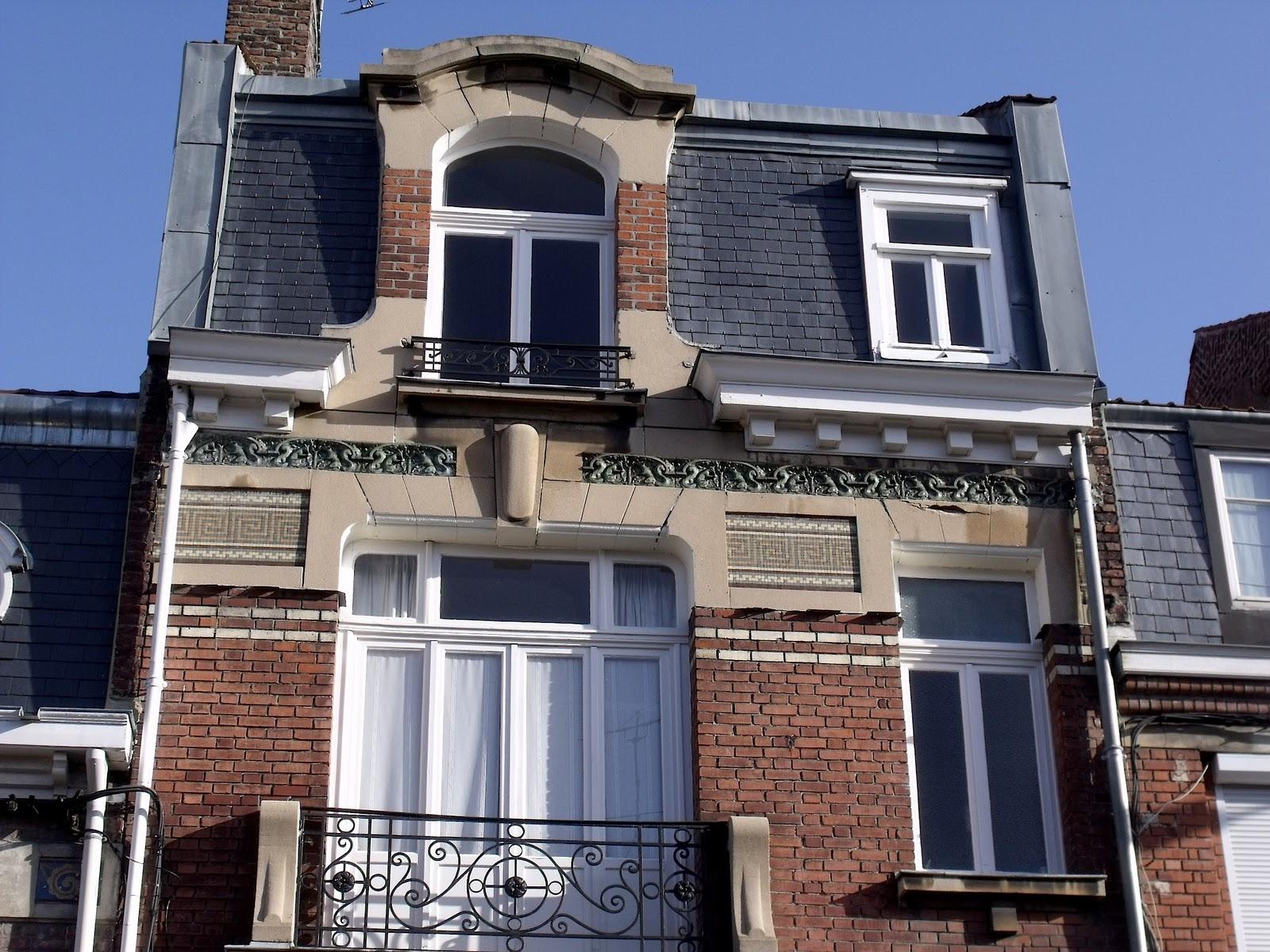 lille l 39 art nouveau et l 39 art d co la madeleine rue du docteur legay. Black Bedroom Furniture Sets. Home Design Ideas
