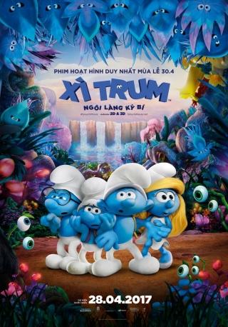 Xì Trum 3: Ngôi Làng Kì Bí - Smurfs 3: The Lost Village (2017)