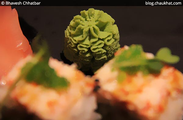 Wasabi Cream at Shizusan (The Asian Bistro) in Phoenix Market City at Viman Nagar area of Pune