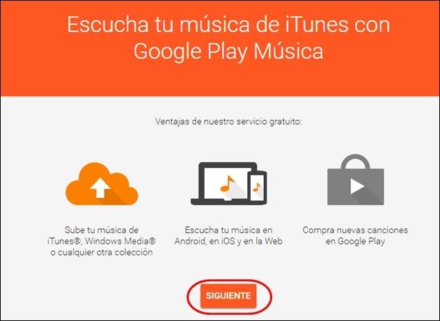 Abrir mi cuenta Google Play Musica - 5