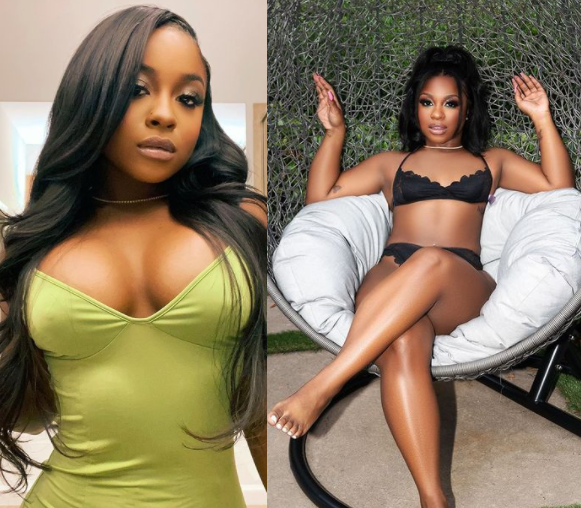 """""""I loved myself before the boobs and I love myself after"""" - Lil Wayne's daughter, Reginae Carter expresses her excitement over her new breast implants (photos)"""