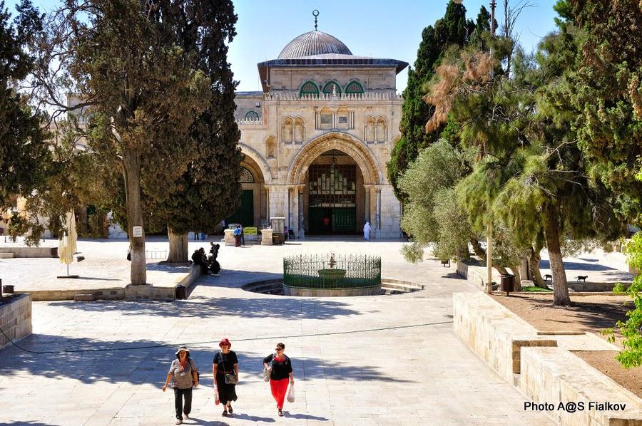 Мечеть Аль Акса, Храмовая гора. Экскурсия по Иерусалиму. Гид в Израиле Светлана Фиалкова.