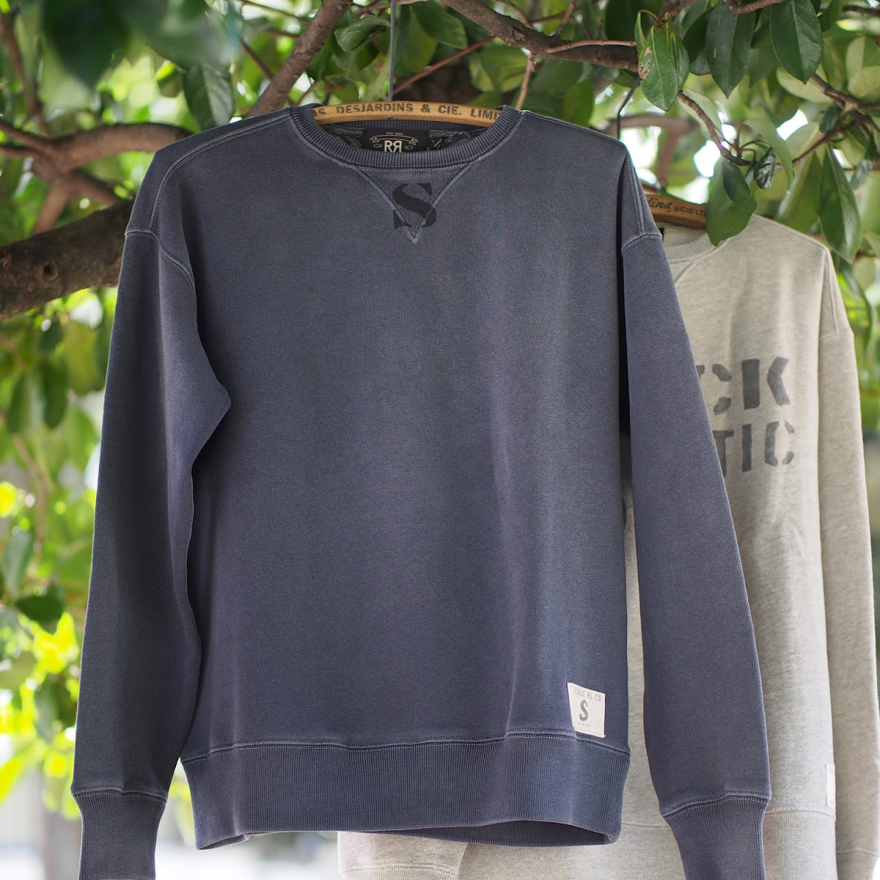RRL / Cotton-Blend-Fleece Sweatshirt