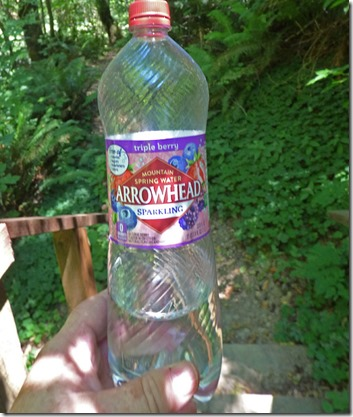 Arrowhead Sparkling Water, Triple Berry Flavor