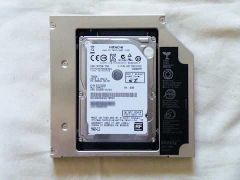 2ND HDD CADDY へ取り付け