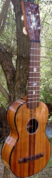 Stéphane Barry koa soprano ukulele