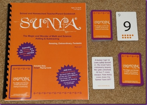 Sunya Math and Science Adding and Subtracting book and cards 2_zpsviu3wtto