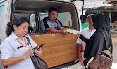 Mobil Samsat Keliling Sasar Wilayah Kecamatan