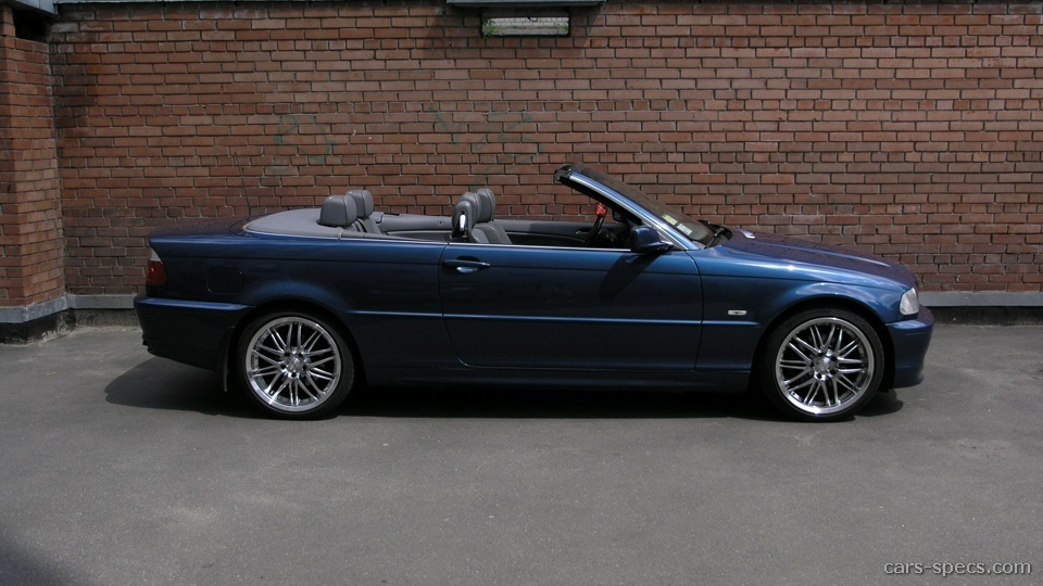 2002 BMW 3 Series Convertible Specifications, Pictures, Prices