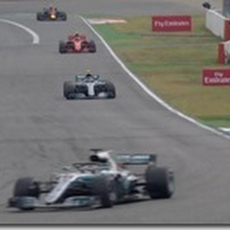 GP di Germania: Vince Hamilton. Vettel a muro