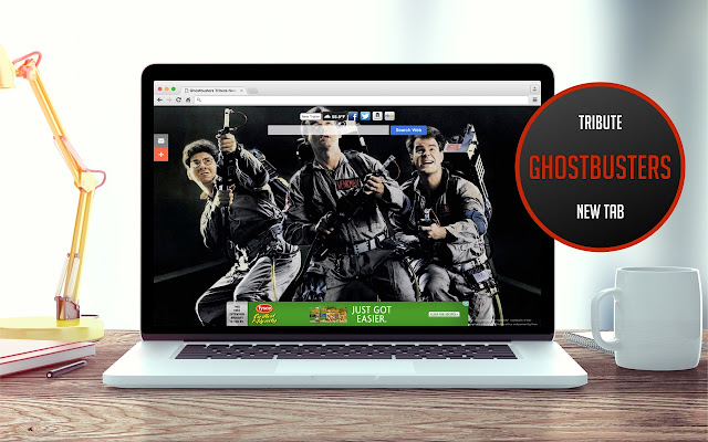 Ghostbusters Tribute New Tab