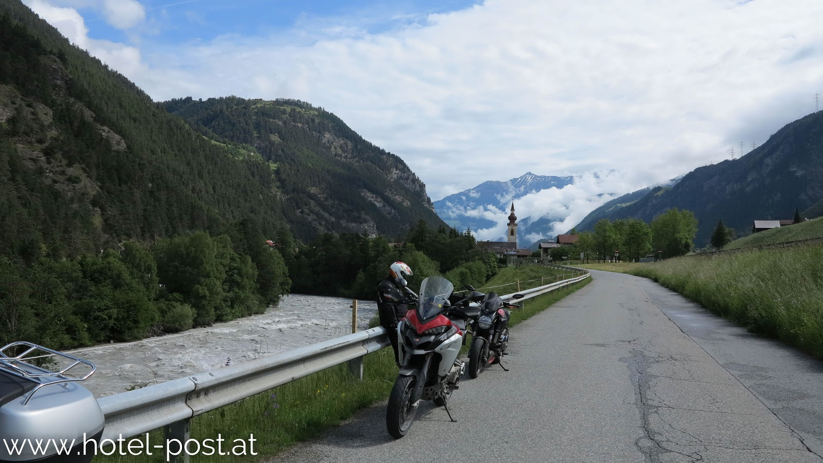 08.06.2016 Postwirt geführte Motorradtour