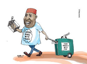 Lolz....The person that did these to Rochas has no chill (photo)