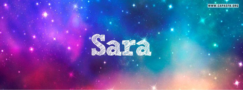 Capas para Facebook Sara